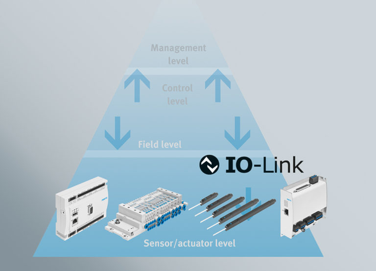 Industry 4.0 intelligent sensors and actuators with IO-Link®