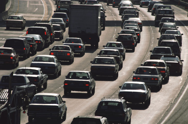 IoT technology to reduce traffic congestion