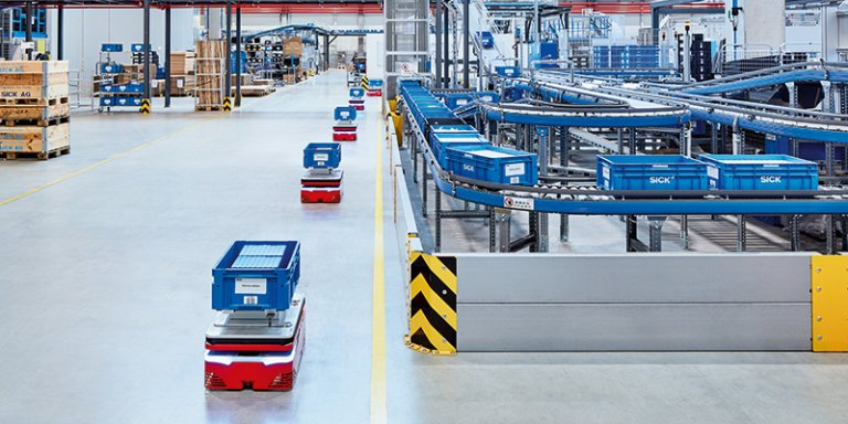 Complete sensor solutions for AGC systems in CEP distribution centers
